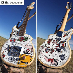 One of my favorite guitar builds of 2016..