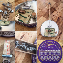 Build number 200... cookie tin 3 string_._._