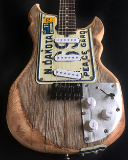 Number 207!  Finally finished my Barnyard Strat... and I'm extremely happy with how it turned out