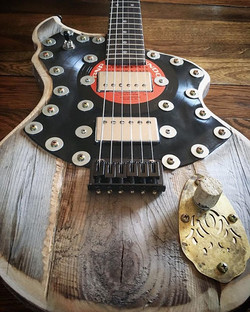 My 186th guitar is complete ... this one really evolved during the building process and I am more th