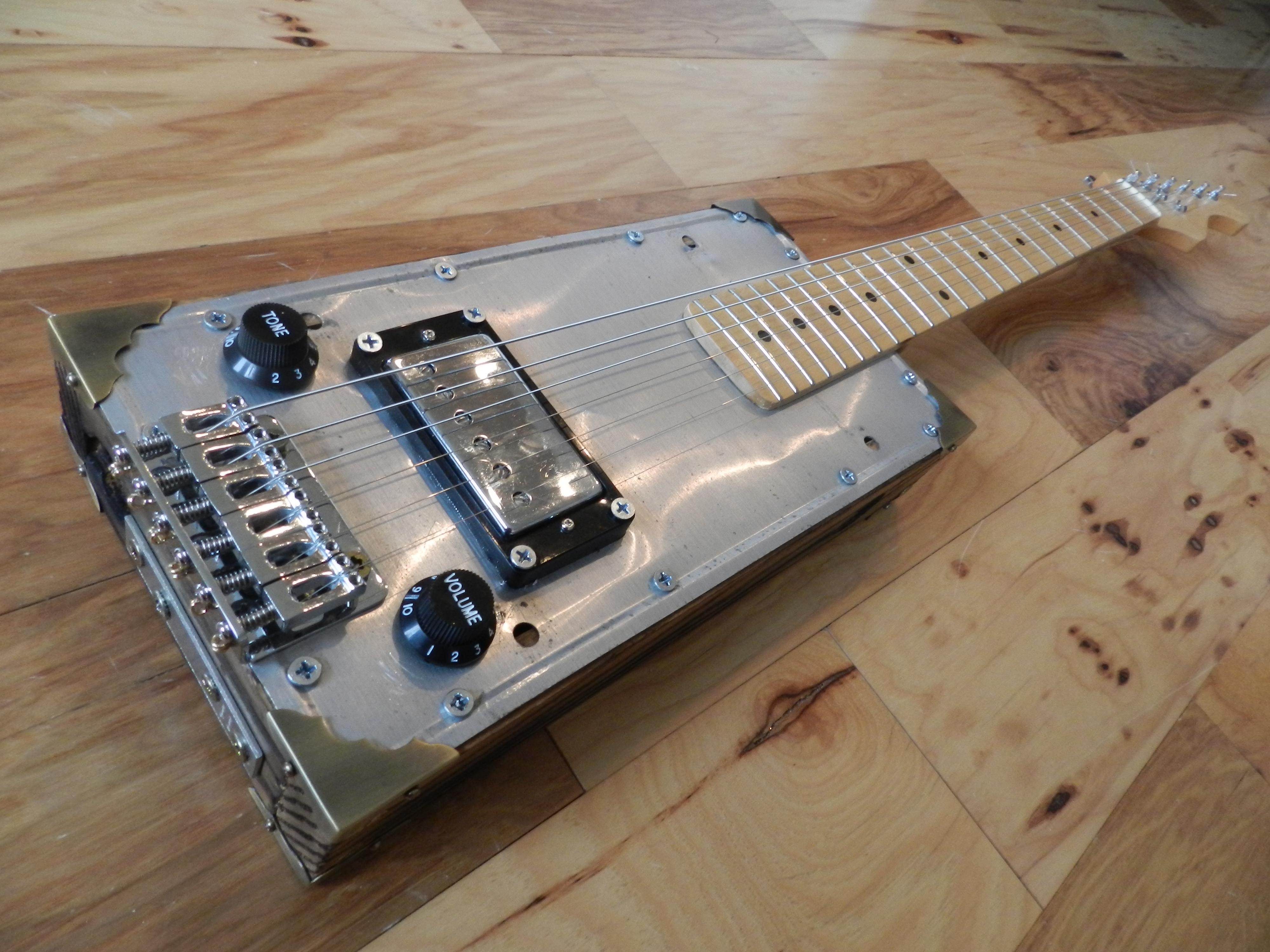 plate guitar