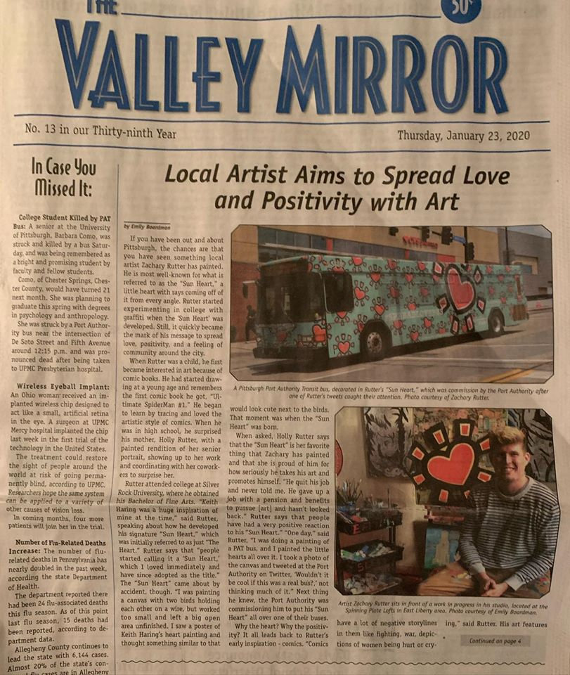 The Valley Mirror - Love Bus