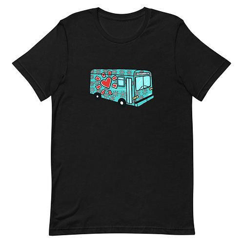"""Love Bus"" Unisex T-Shirt"