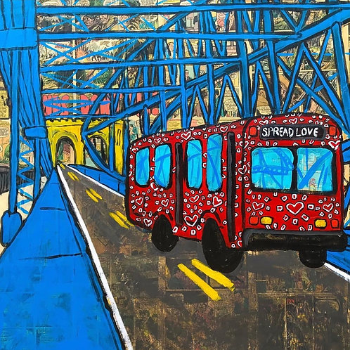 """The Original Love Bus"" Print"