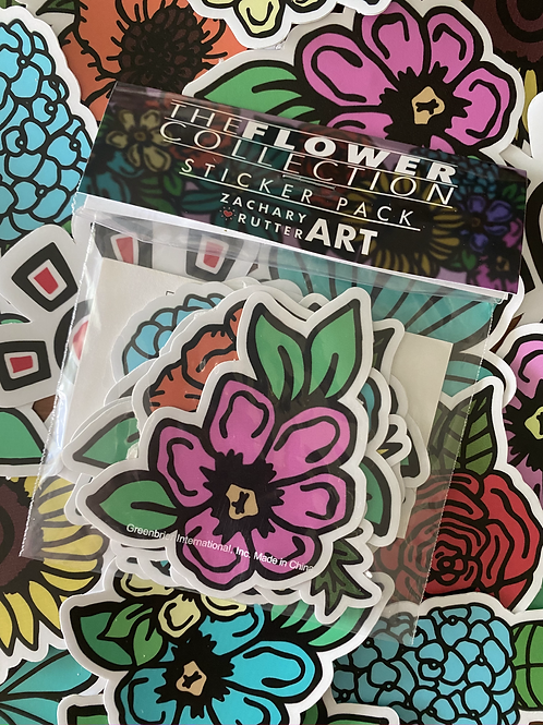 Flower Collection Sticker Pack