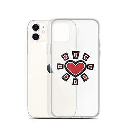 Sun Heart Phone Case