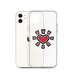 Sun Heart Phone Case