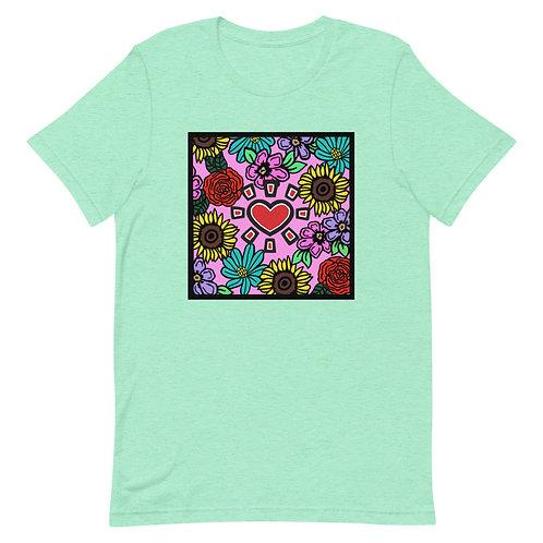 """""""Square Floral"""" Unisex T-Shirt"""