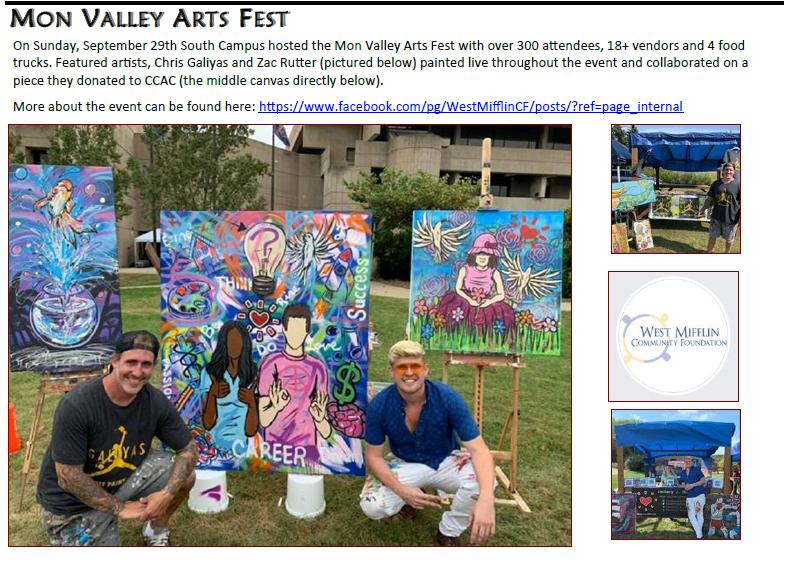 Mon Valley Arts Fest - Zachary Rutter
