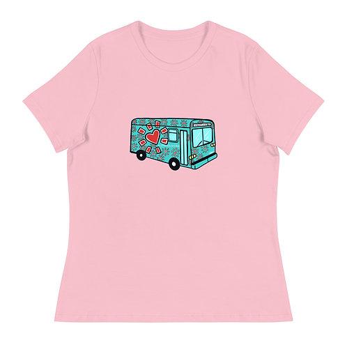 """""""Love Bus"""" Women's T-Shirt"""