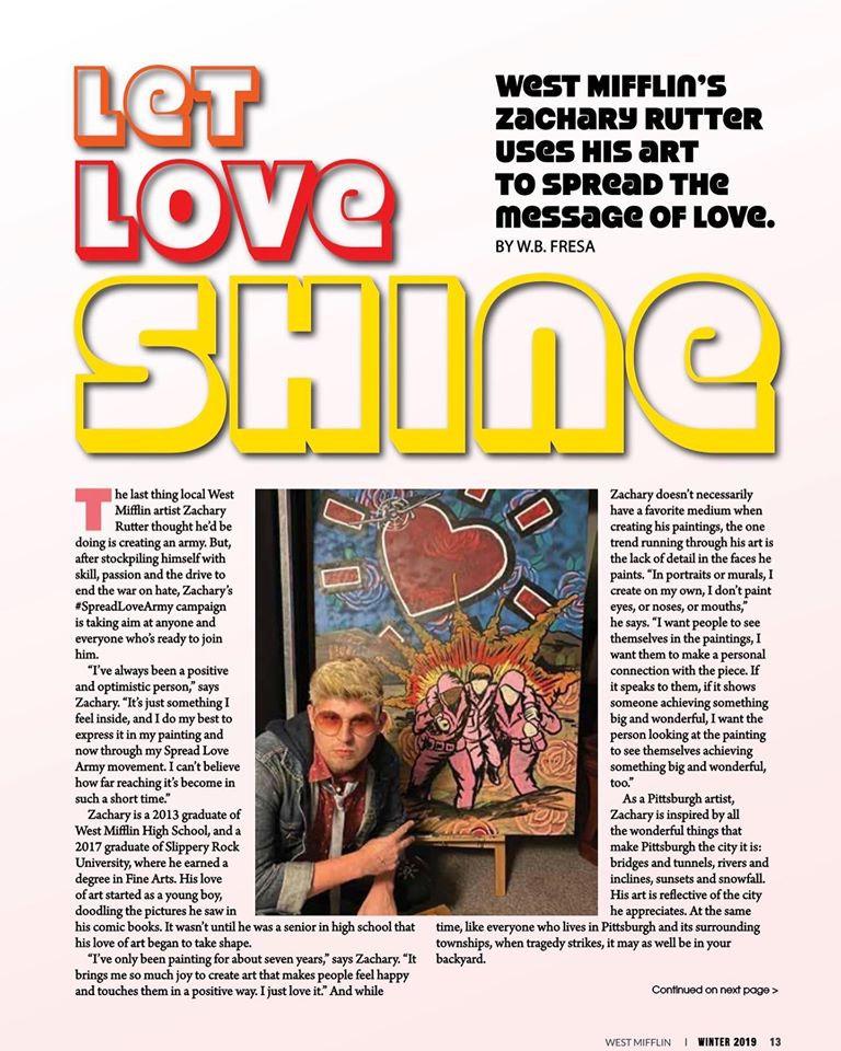 Let Love Shine - Zachary Rutter