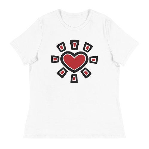 """""""Sun Heart"""" Women's T-Shirt"""