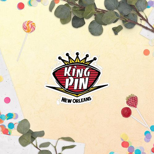 The Kingpin Bubble-free stickers