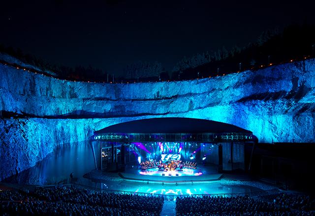 Dalhalla naturens egna amfiteater