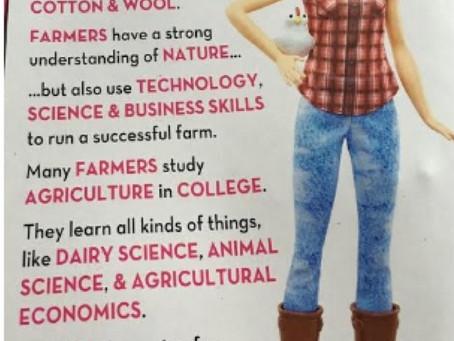 The RockinBarB is a Fan of Farmer Barbie