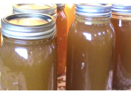 "Beef Bone Broth- ""Make No Bones About It"" If you buy bulk beef there is an ample supply of broth bon"