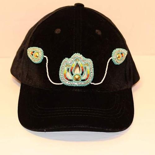 BEADoon Bling beaded hat