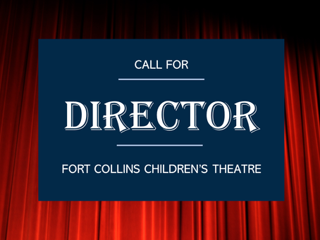 Call for Director for Fall Production