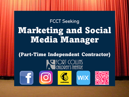 FCCT Seeking Part-Time Marketing and Social Media Manager (Independent Contractor)