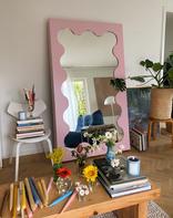 Curvy Mirror Pink