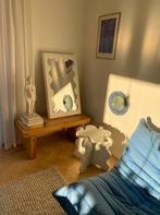 Curvy Mirror Mini White & Curvy Table Mini White