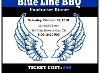 First Annual Blue Line BBQ Fundraiser Dinner