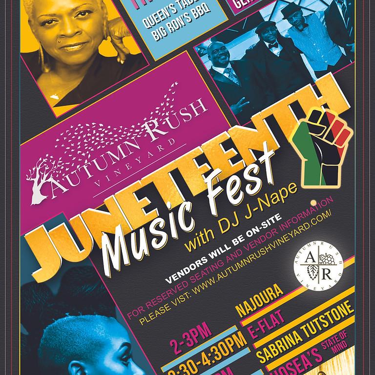 Juneteenth Music Fest at Autumn Rush Vineyard