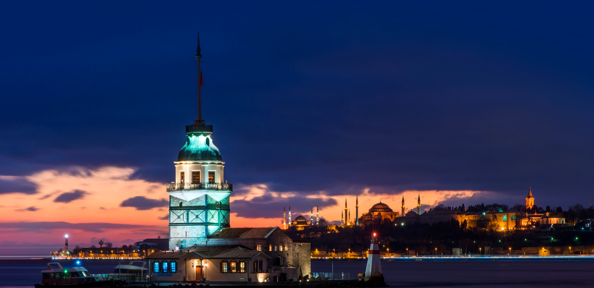 MAIDEN'S TOWER / ISTANBUL