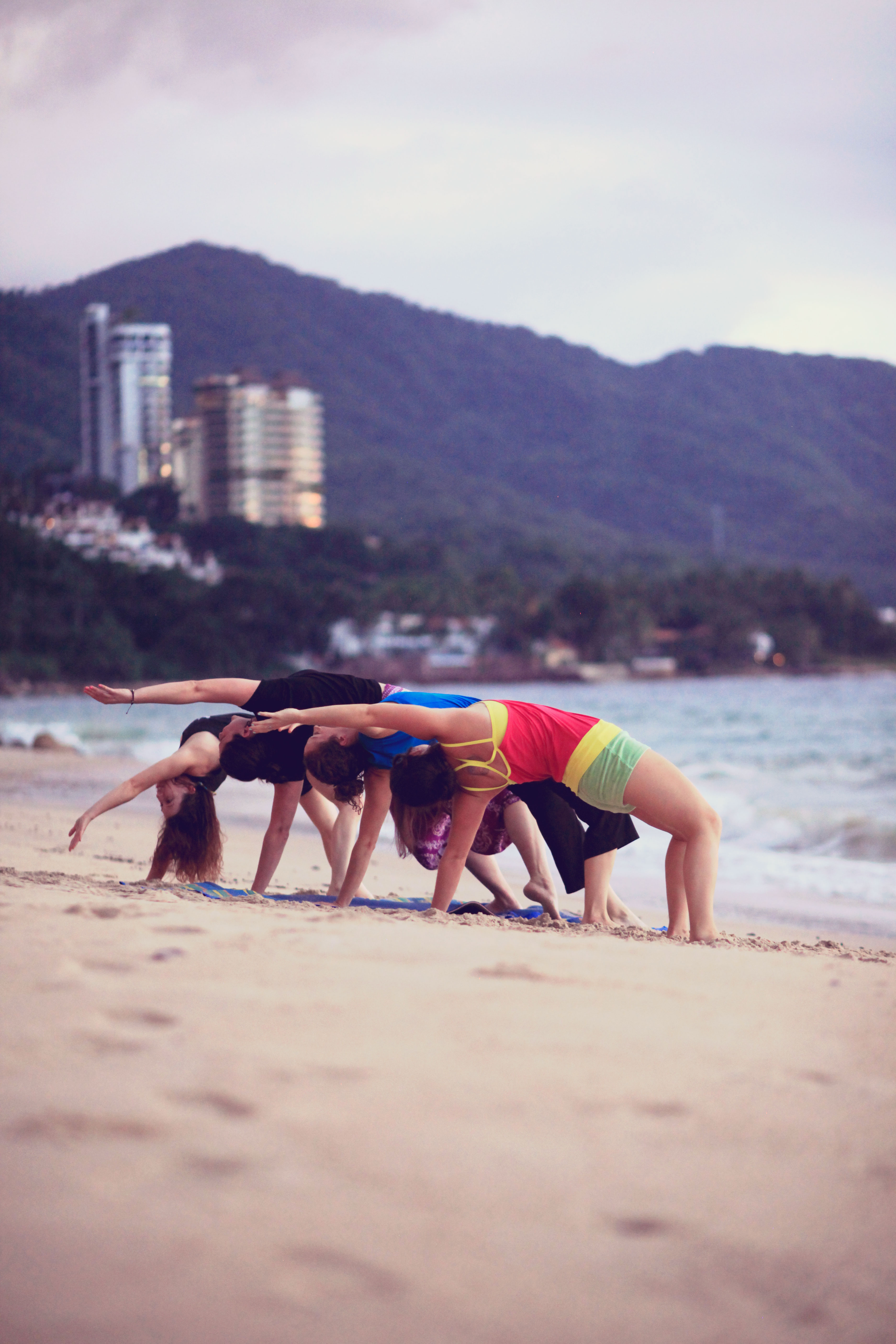 Beach + Yoga = Happiness