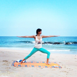 Beach Yoga Practice with SarahBeth