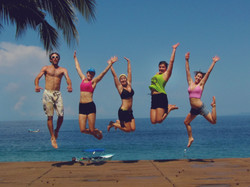 One Happy Group of Yogis