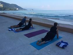 Yoga with Ocean Views