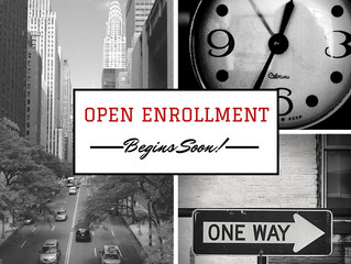 Open Enrollment for Medicare and Individual Insurance Begins Soon!