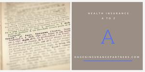Health Insurance A - Z