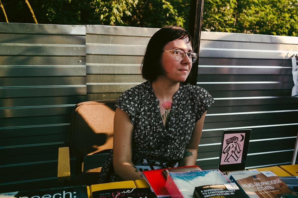 Галя Рогова, основательница книжного магазина «Циники» в Нижнем Новгороде