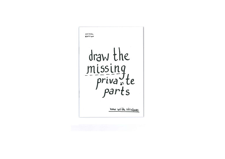 Draw The Missing Private Parts