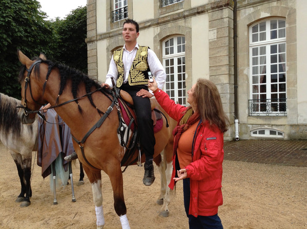Haras National du Pin, Normandy, France