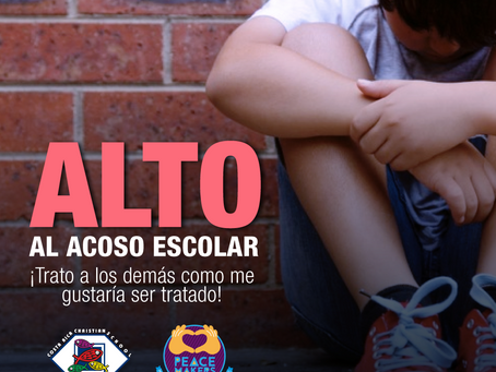 """2 de Mayo, """"Día contra el Bullying o Acoso Escolar"""""""