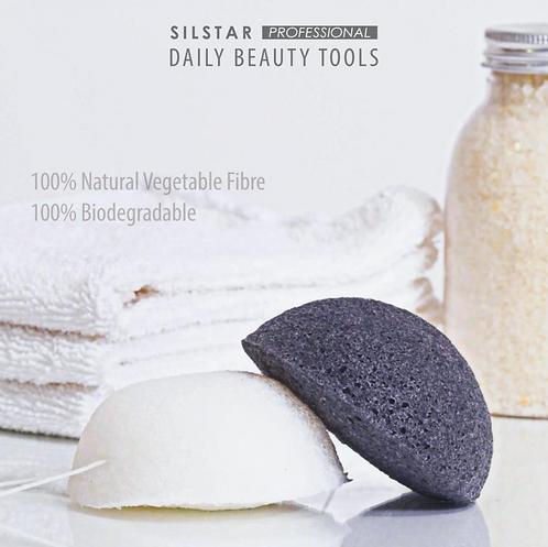 SILSTAR Professional Organic Konjac Sponge
