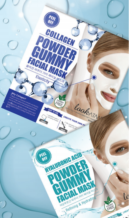Powder Gummy Facial Mask