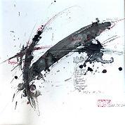 ABSTRAIT (chine) - LALA - x9 - 50 x 50.j