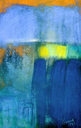 GODDA - Symphonie bleue III - 50 x 70.JP