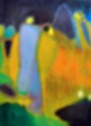 Oiseau sur échasses - 30 X 40 - 400 €.JP