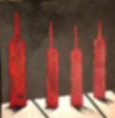 LUSSATO_Elio_-_4_bouteilles_rouges_sur_f