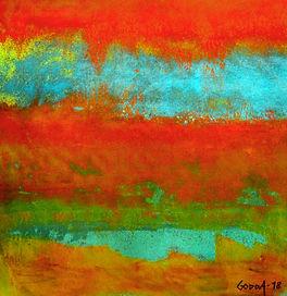 GODDA - Chaleur vibrant 35x35 cm.JPG