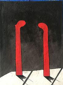 LUSSATO Elio - Tête à tête - 80 x 60 - 8