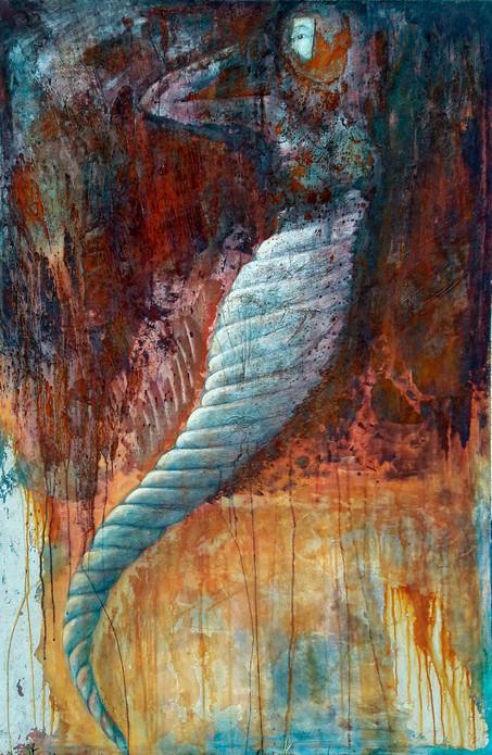 Papillon_2mx_1m_acrylique_rouille_béton