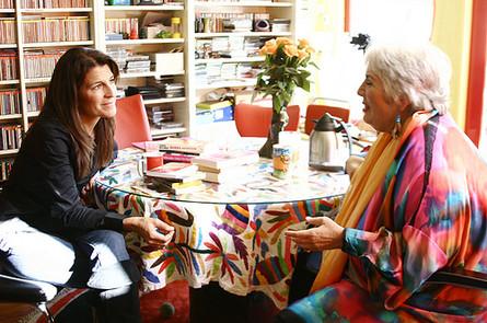 "Interviewing Xavier Hollander (the ""Happy Hooker"") in Amsterdam, Holland"