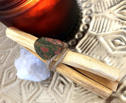 Heal ~ Palo Santo Smudging Wands