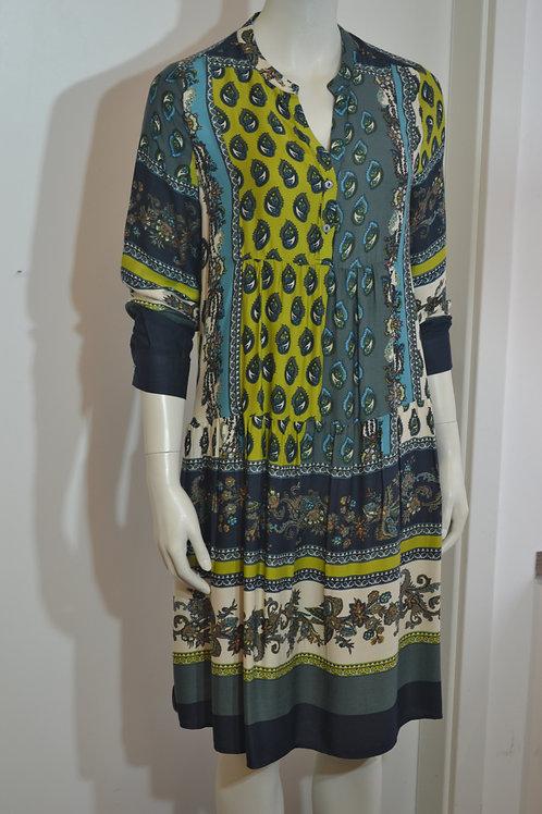 Milano Italy Paisley Kleid gemustert